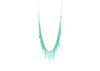 Urchin Fringe Necklace- Powder Coated/Vermeil
