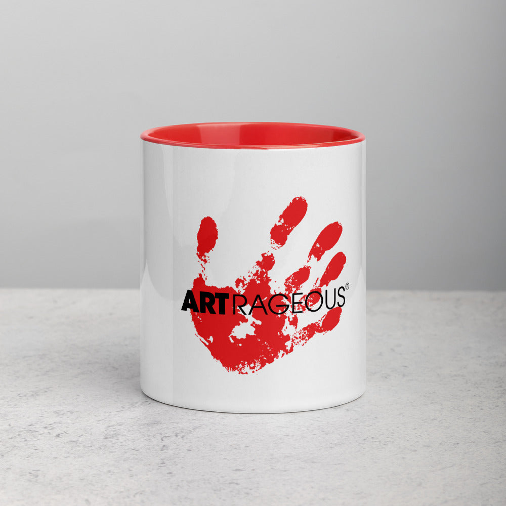 Mug with Color Inside (Red)