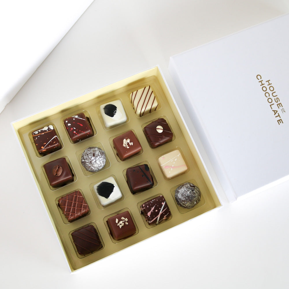 House of Chocolate Truffle Selection | 16PC Box