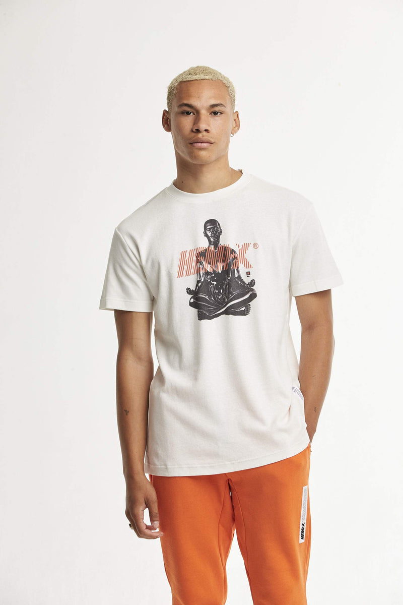 Hempx® Meditate Shirt Tee White