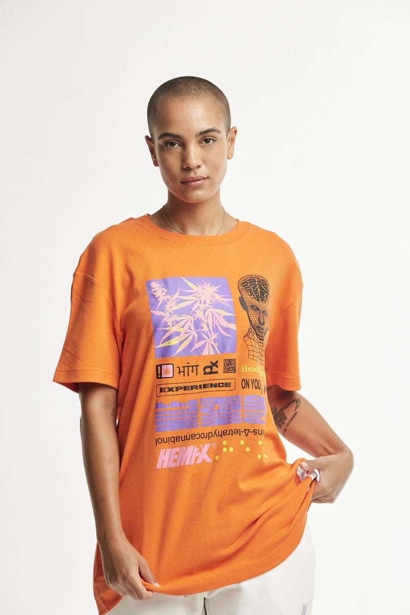 Hempx® Head Change Tee Orange
