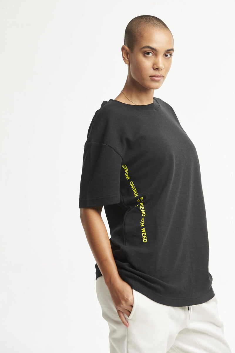 Hempx® Friend Tee Black