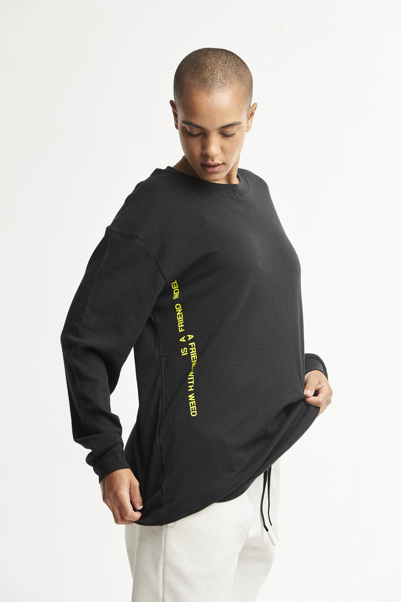 Hempx® Friend L/S Black