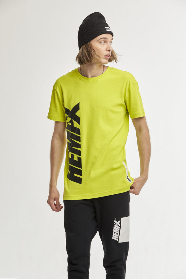 Hempx® Flagship Loud Tee Neon Green