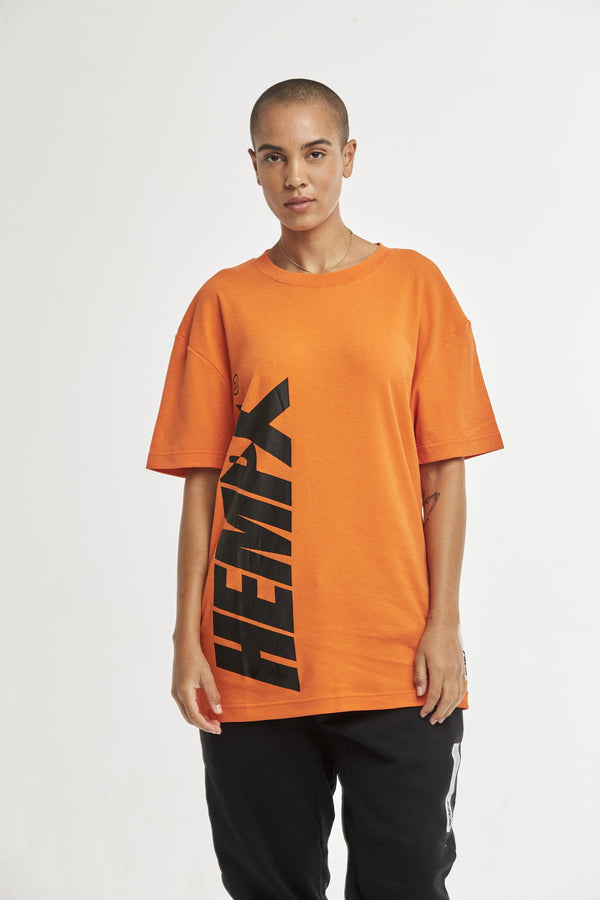Hempx® Flagship Loud Tee Orange