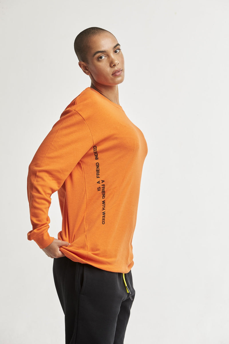 Hempx® Friend L/S Orange