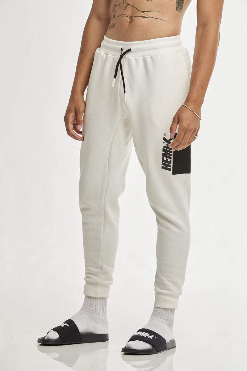 Hempx® Flagship Track Pants White