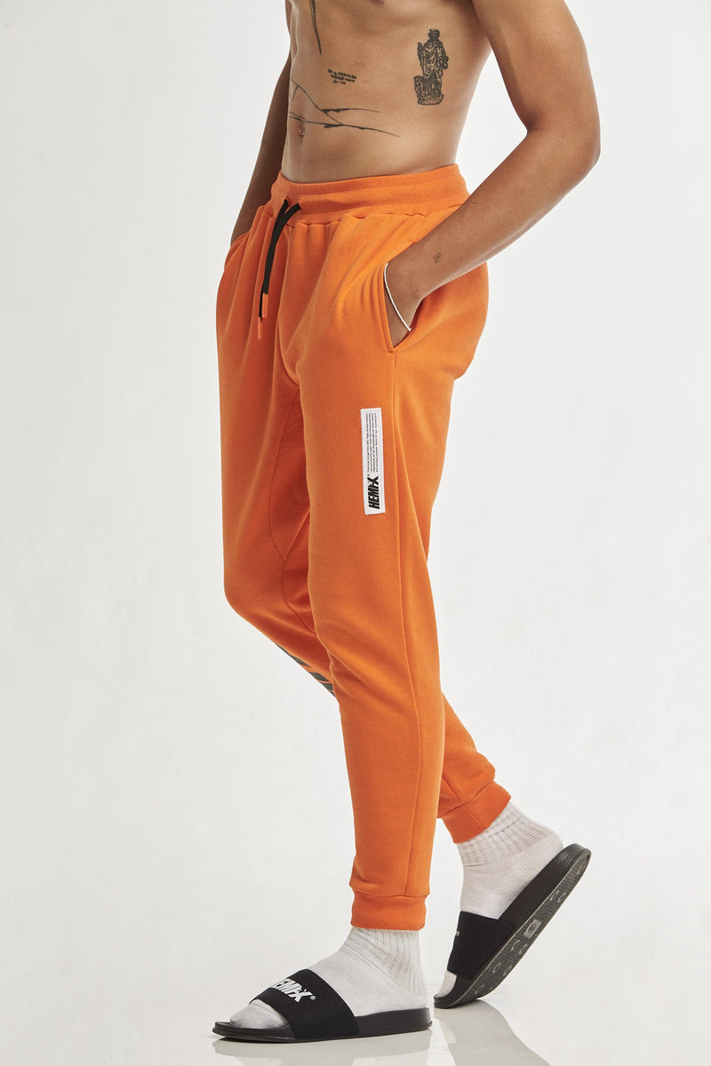 Hempx® Flame Track Pants Orange