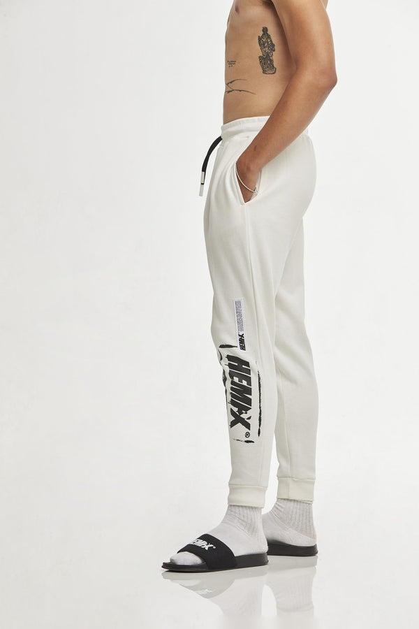 Hempx® Spray Track Pants White