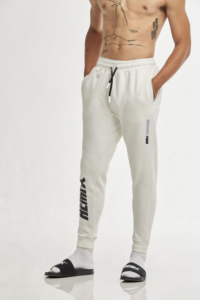 Hempx® Flame Track Pants White