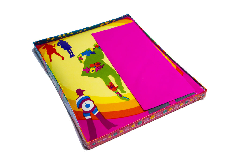 vintage deadstock peter max stationery