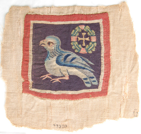 Egyptian linen tapestry, fourth-seventh century AD