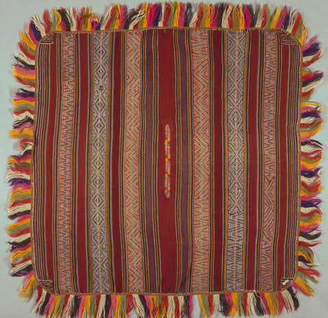 Andean tapestry poncho, circa 100 BC