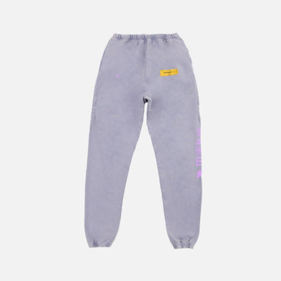 LOST SIGNAL PURPLE DYE SWEAT PANTS - TRILL Marketplace