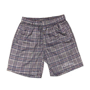 Plaid Logo Shorts - TRILL Marketplace
