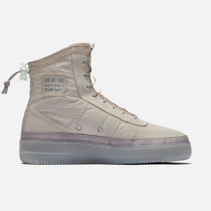 NIKE AIR FORCE 1 SHELL DESERT SAND WOMEN'S - TRILL Marketplace