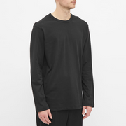 COMME DES GARCONS LONG SLEEVE LOGO TEE
