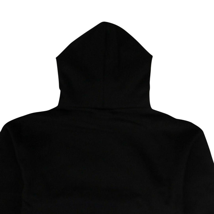 COTTON 'LOVELESS' HOODED SWEATSHIRT - BLACK - TRILL Marketplace
