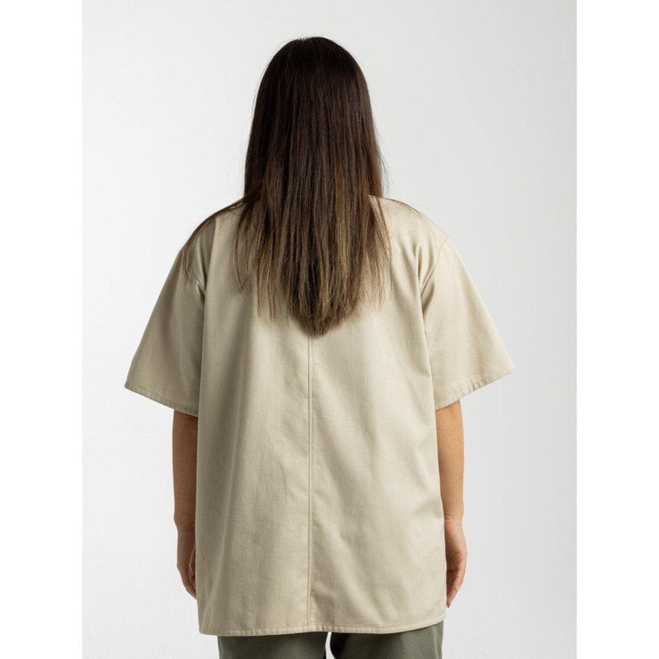 Mock Neck Shirt [Khaki] - TRILL Marketplace