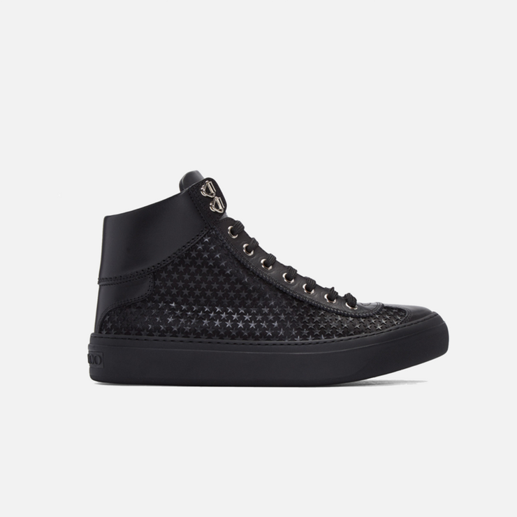 Jimmy Choo Argyle Black High-Top - TRILL Marketplace