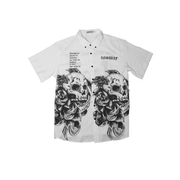Inswif skulls White Button Down
