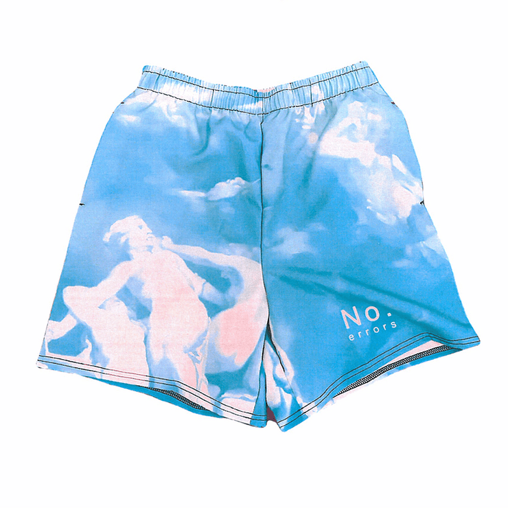 Heaven or Hell Shorts - Baby Blue