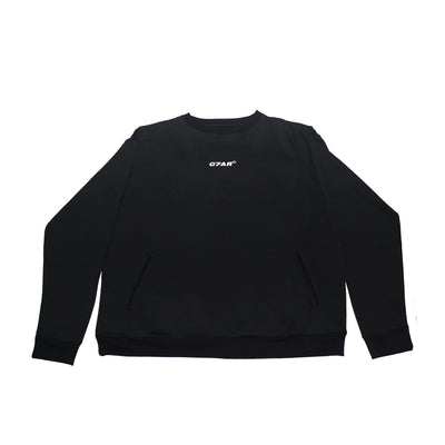 Black Crewneck Sweater - TRILL Marketplace