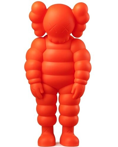 WHAT PARTY (ORANGE) - KAWS - TRILL Marketplace