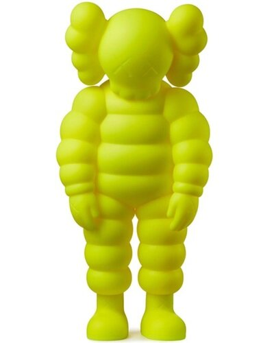 WHAT PARTY (YELLOW) - KAWS