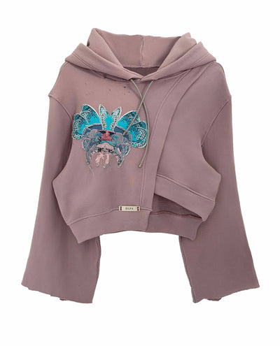 BHAKTA SWEATSHIRT WITH LILAC