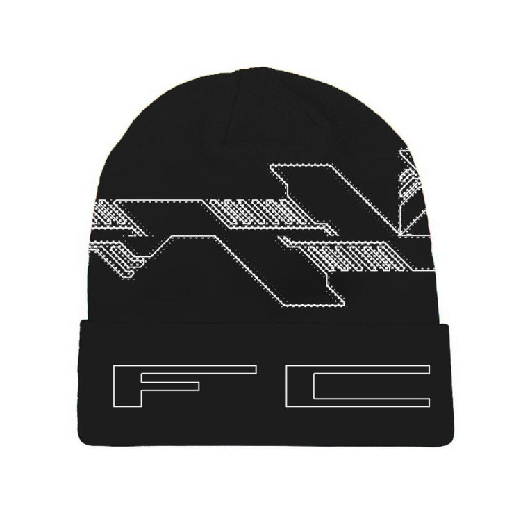 Embroidered Quick Strike Jacquard Beanie - TRILL Marketplace