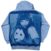 MASK OFF CYANOTYPE HOODIE - TRILL Marketplace