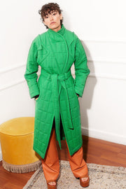 Curvy Me Puffer Green - TRILL Marketplace