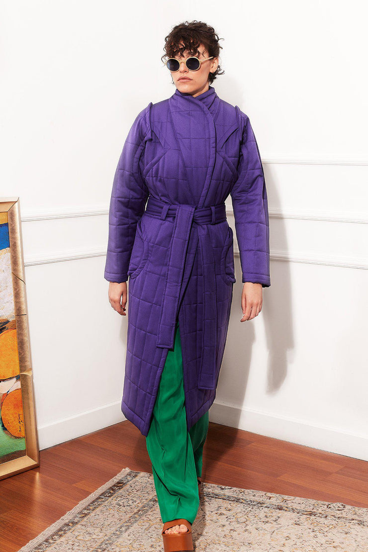 Curvy Me Puffer Purple - TRILL Marketplace