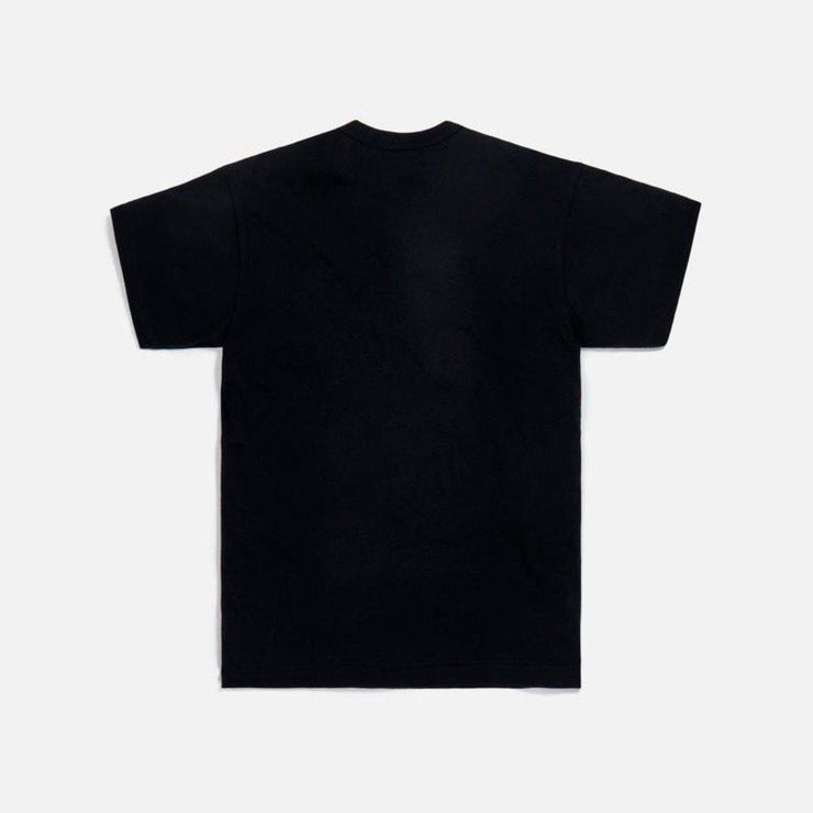 CDG PLAY RED SMALL HEART BLACK TEE - TRILL Marketplace