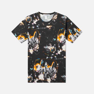 COMME DES GARCONS FUTURA PRINT A ALL OVER TEE