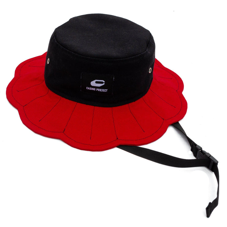 Daisy Bucket Hat [Scarlet] - TRILL Marketplace