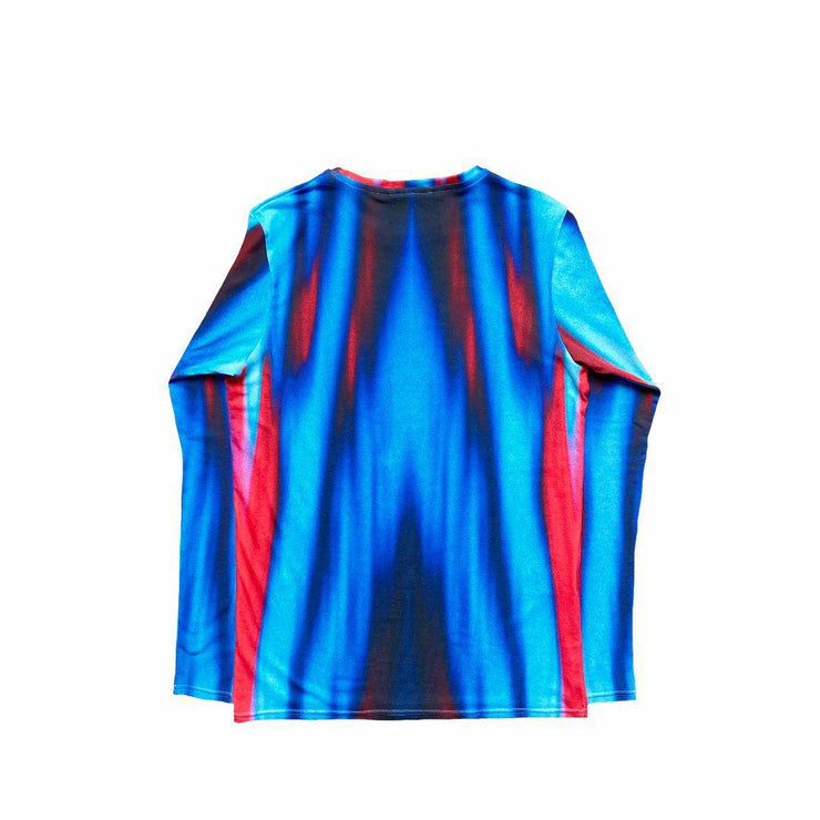 FLASHING LIGHTS BLUE TEE - TRILL Marketplace