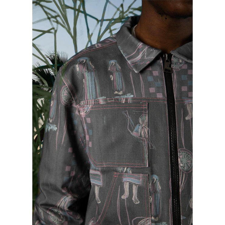 GACHA DENIM JACKET - TRILL Marketplace