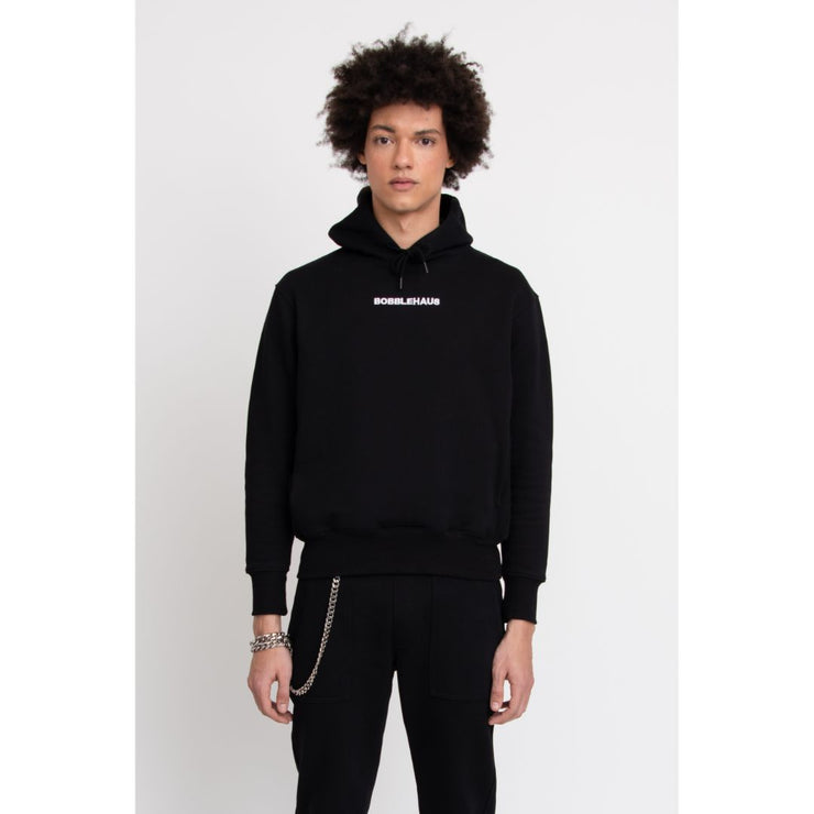 BH Signature Cotton Hoodie (Black) - TRILL Marketplace