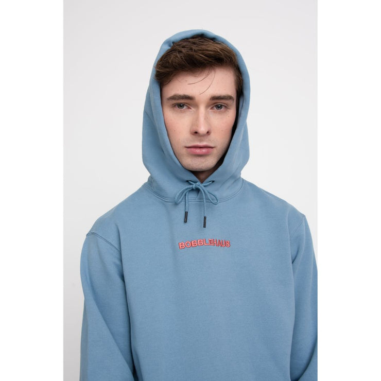 BH Signature Cotton Hoodie (Powder Blue) - TRILL Marketplace