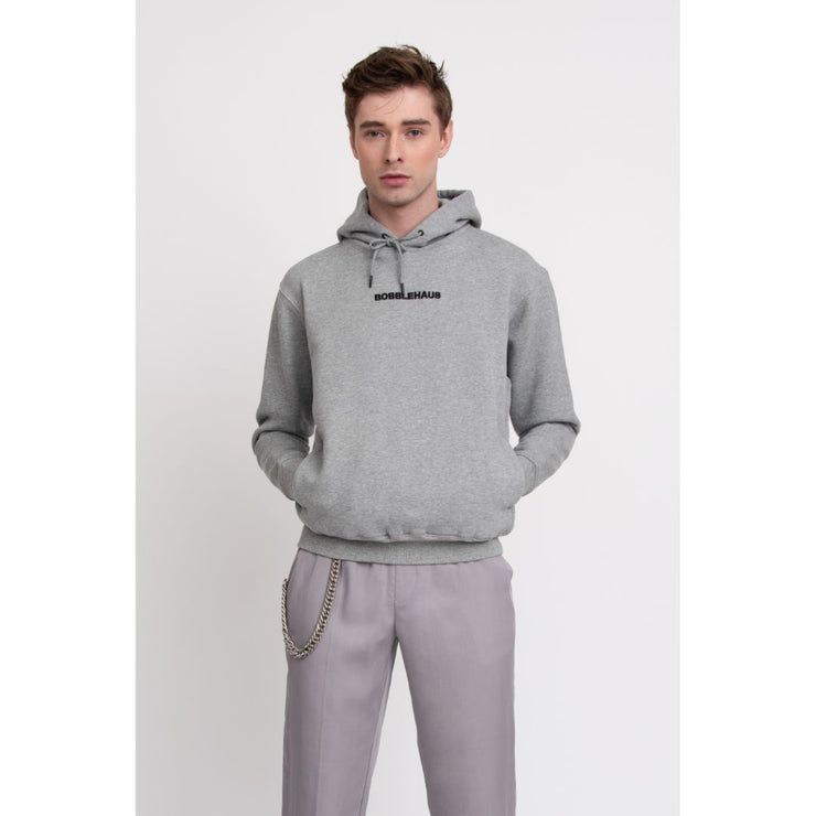 BH Signature Cotton Hoodie (Heather Grey) - TRILL Marketplace