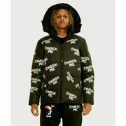 Smock Me Logo Puffer Jacket - TRILL Marketplace