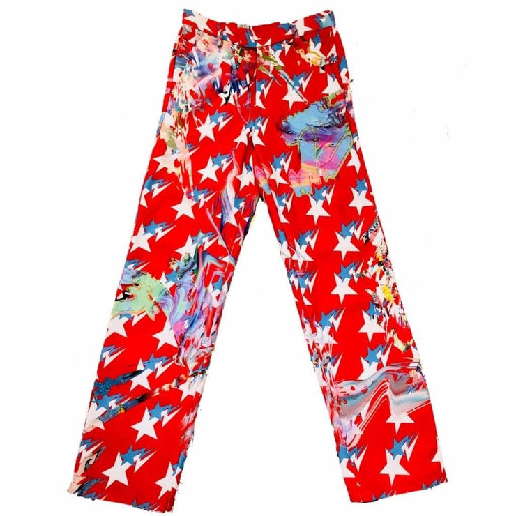 RED SPACE PANTS - TRILL Marketplace