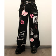 Flared Zip Pants - TRILL Marketplace