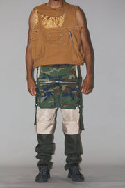 WAITER CAMO PANTS/ SHORTS