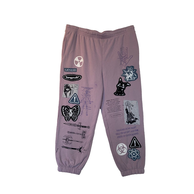 Lilac Sweatpants - TRILL Marketplace