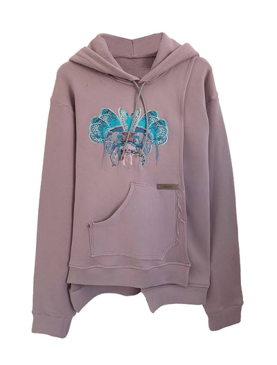 SURYASTA SWEATSHIRT DUSTY PINK