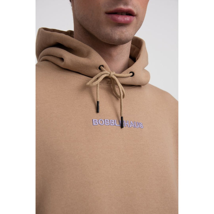 BH Signature Cotton Hoodie (Light Camel) - TRILL Marketplace