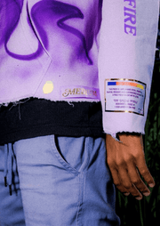 PURPLE HOODIE - TRILL Marketplace
